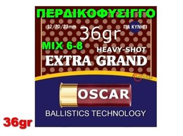 Εικόνα της Περδικοφύσιγγο Mix 6-8 Oscar Extra Grand 36gr