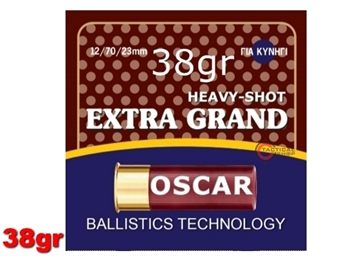 Εικόνα της Φυσίγγια Oscar Extra Grand 38gr