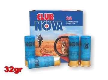 Εικόνα της Φυσίγγια Nova Club C12 32gr