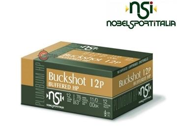 Εικόνα της 12βολα Magnum Δράμια NSI Buckshot Buffred