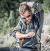 Picture of Helikon Woodsman Anorak Jacket Black / Taiga Green