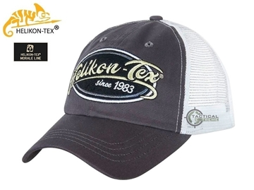 Εικόνα της Helikon Trucker Cap Cotton Twill Shadow Grey/White