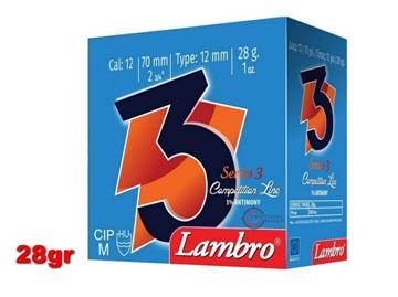 Εικόνα της Φυσίγγια Lambro Series 3 28gr
