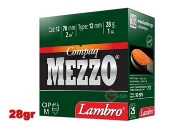 Εικόνα της Φυσίγγια Lambro Mezzo Compaq 28γρ
