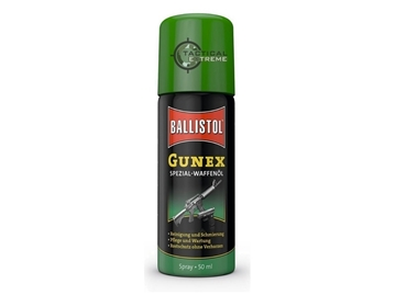 Εικόνα της Ballistol Gunex Λάδι Αντιοξειδωτικό – Αντιπαγωτικό Spray 50ml