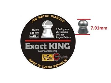 Εικόνα της Bληματάκια JSB Exact King cal 6,35mm