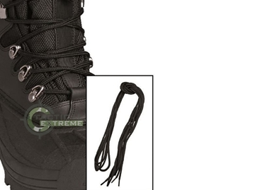 Εικόνα της Κορδόνια Mil-Tec Μαύρα 80 cm