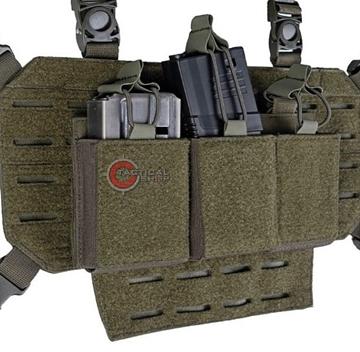 Εικόνα της Τριπλή Θήκη Γεμιστήρων Mil-Tec M4 M16 ή AR15 Magazine Χακί