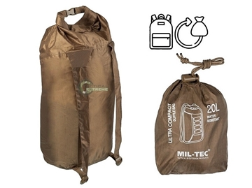 Εικόνα της Doufle Bag Ultra Compact Mil-Tec Dark Coyote