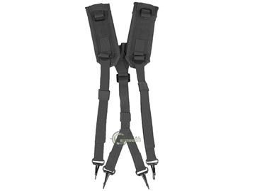 Εικόνα της Harness Suspender Set Lc2 Mil-Tec Black
