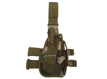 Εικόνα της Low Ride Holster Right Mil-Tec CCE Camo