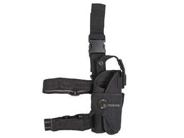 Εικόνα της Adjustable Cordura Leg Holster Mil-Tec Black