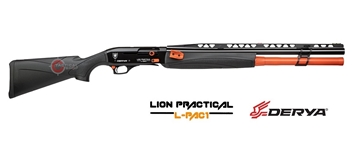 Εικόνα της Ημιαυτόματη Καραμπίνα Derya Lion Practical LP-106 Black Orange