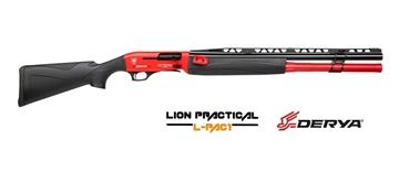 Εικόνα της Ημιαυτόματη Καραμπίνα Derya Lion Practical LP-104 Black Red