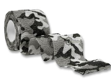 Εικόνα της Ελαστική Ταινία Mil-Tec Adhesive Tape Snowcamo
