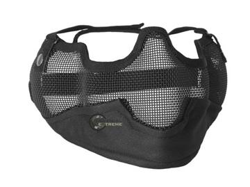 Εικόνα της Μάσκα Προσώπου Mil-Tec Airsoft Protection Net Lens Μαύρη