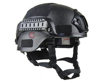 Εικόνα της Κράνος Airsoft Mil-Tec Combat Helmet MICH 2000 NVG Μαύρο