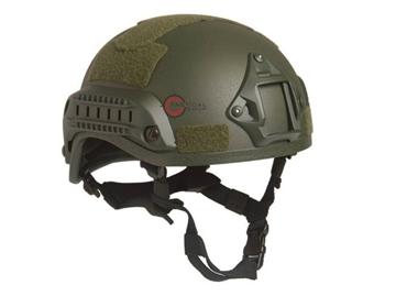 Εικόνα της Κράνος Airsoft Mil-Tec Combat Helmet MICH 2001 NVG Χακί