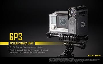 Εικόνα της Φακός για Action Camera GoPro and Sony Light Nitecore