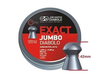 Εικόνα της JSB Exact Jumbo Mολυβένια βλήματα αεροβόλου 5.5mm