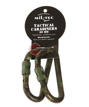 Εικόνα της Tactical Carabiner Mil-Tec Αλουμινίου 80mm