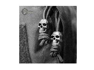Εικόνα της Skull Cord Stopper Μαύρο