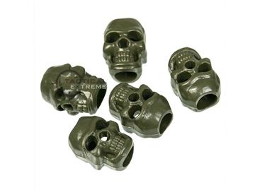 Εικόνα της Skull Cord Stopper Χακί