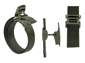 Εικόνα της Ελαστική Ζώνη Ταχείας Mil-Tec Elastic Quick Release Belt Λαδί