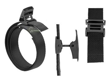 Εικόνα της Ελαστική Ζώνη Ταχείας Mil-Tec Elastic Quick Release Belt Μαύρη