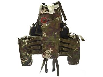 Εικόνα της Γιλέκο Σακίδιο Μάχης Mil-Tec Tactical Vest 12 Pockets Vegetato