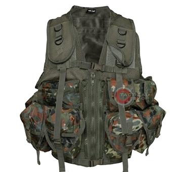 Εικόνα της Γιλέκο Μάχης Mil-Tec Vest Tactical 9 Pockets Flectar