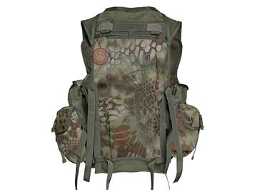 Εικόνα της Γιλέκο Μάχης Mil-Tec Vest Tactical 9 Pockets Mandra Wood
