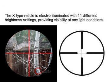 Εικόνα της ASG Scope 3-9Χ40Ε με φωτιζόμενο σταυρόνημα