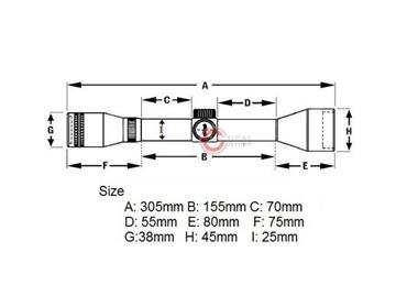 Εικόνα της ASG Strike Rifle Scope 6x40