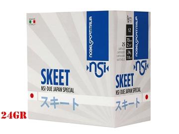 Εικόνα της Φυσίγγια NSI Due Skeet Japan Special 24gr