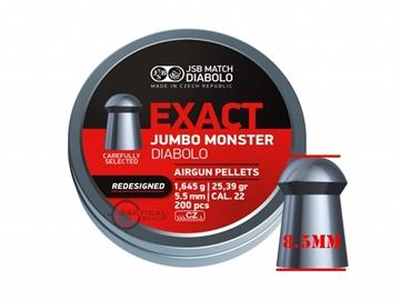 Εικόνα της Βλήματα αεροβόλου JSB Jumbo Monster Diabolo 5.52mm