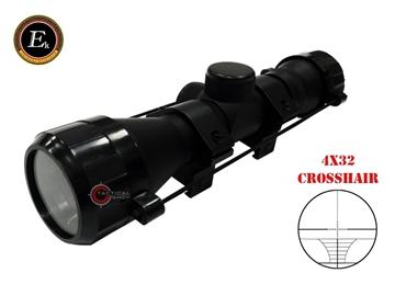 Εικόνα της Ek Archery Διόπτρα 4x32 Crosshair Reticle