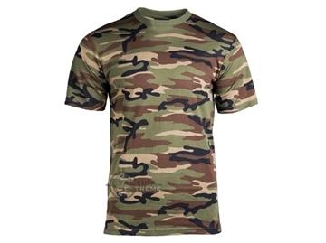 Εικόνα της Μπλουζάκι Mil-Tec T-shirt Woodland