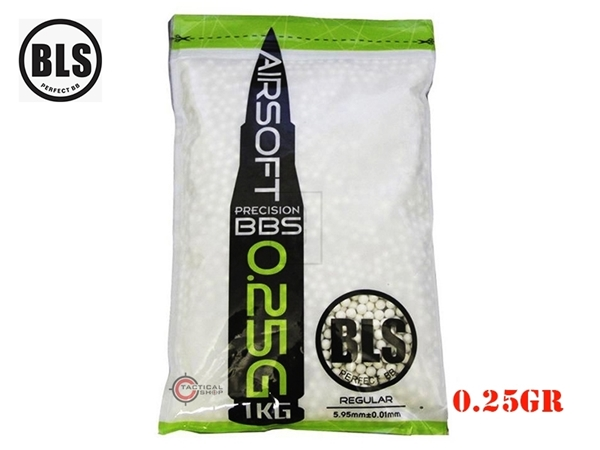 Picture of Μπίλιες Για Airsoft BLS Green 0.25gr 6mm
