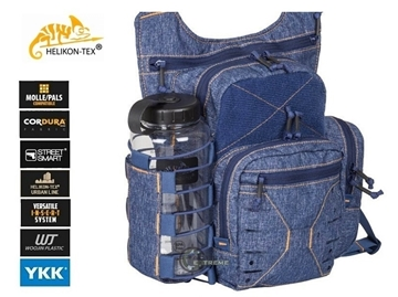 Εικόνα της Helikon Edc Side Bag Melange Blue
