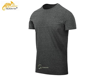 Εικόνα της Helikon T-Shirt Slim Melange Black-Grey