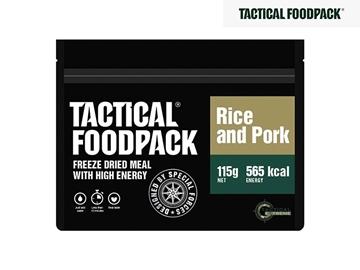 Εικόνα της Φαγητό Επιβίωσης Tactical Foodpack Χοιρινό Με Ρύζι 115 g