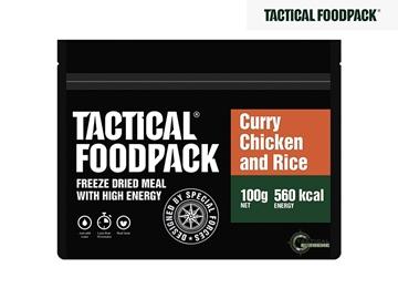 Εικόνα της Φαγητό Επιβίωσης Tactical Foodpack Κοτόπουλο Με Ρύζι Και Κάρυ 110 g