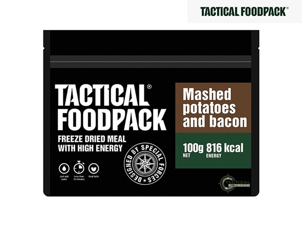 Picture of Φαγητό Επιβίωσης Tactical Foodpack Πουρές Πατάτας Με Bacon 100 g