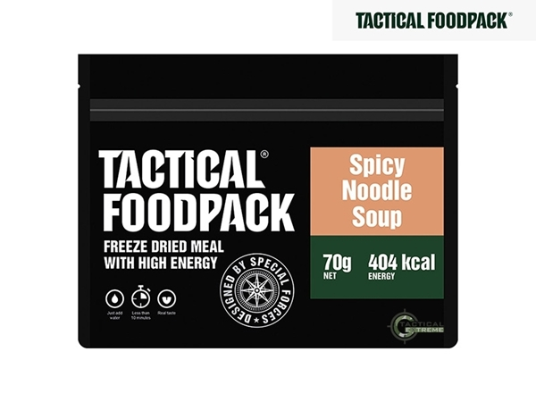 Picture of Φαγητό Επιβίωσης Tactical Foodpack Πικάντικη Σούπα Noodles 70 g