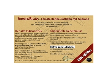 Εικόνα της Airmenbeans Παστίλιες Καφέ