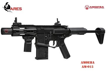 Εικόνα της Airsoft Τυφέκιο Ares Amoeba M4 AM-015 EFC-System AEG 6mm BB Μαύρο