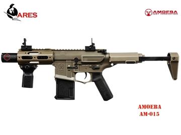 Εικόνα της Airsoft Τυφέκιο Ares Amoeba M4 AM-015 EFC-System AEG 6mm BB FDE