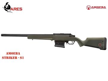 Εικόνα της Τουφέκι Ελατηρίου Ares Amoeba Striker S1 Bolt Action Sniper Rifle 6mm BB Χακί