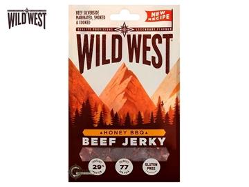 Εικόνα της Αφυδατωμένο Βοδινό Κρέας Wild West Beef Jerky Honey BBQ 70γρ